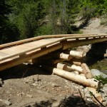 Diamond Creek Bridge build (BCRT)