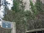 Beacon Rock Trailhead sign shows where the trail begins.