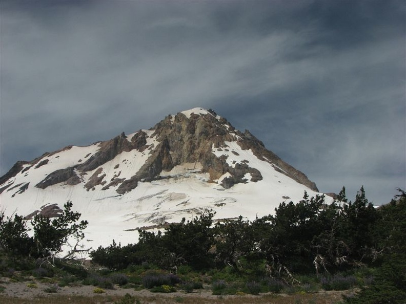 Hood from the Timberline Trail 2003