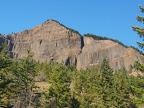 There are some nice views of Table Mountain fom the Greenleaf Falls Trail as you near the falls.