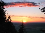 Sunset over the Palouse from the top of Kamiak Butte.