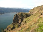 Near the cherry orchard are some nice views of the nearby cliffs and the Columbia River.