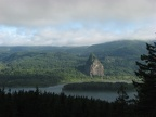 Beacon Rock and the Columbia River