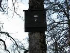 A bat house at the Ridgefield National Wildlife Refuge.