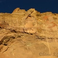 I can't imagine climbing up this cliff face but many climbers do just that at Smith Rock State Park.