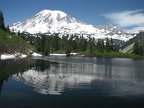Mt. Rainier from Bench Lake