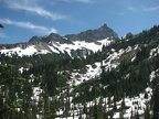 Looking towards Snow Lake in July 8, 2008