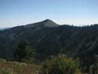 Looking at Bald Mountain from the Starway Trail.