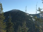 Looking east from the snowshoe trail from Barlow Pass to Twin Lakes, OR