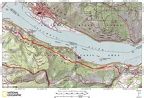 Historic Columbia River Highway State Twin Tunnels Route OR