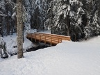 One of the new bridges on the Mirror Lake Trail