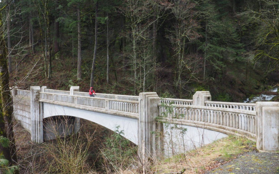 Historic Columbia River Highway State Trail – Bonneville Segment – Eagle Creek to John B Yeon, OR