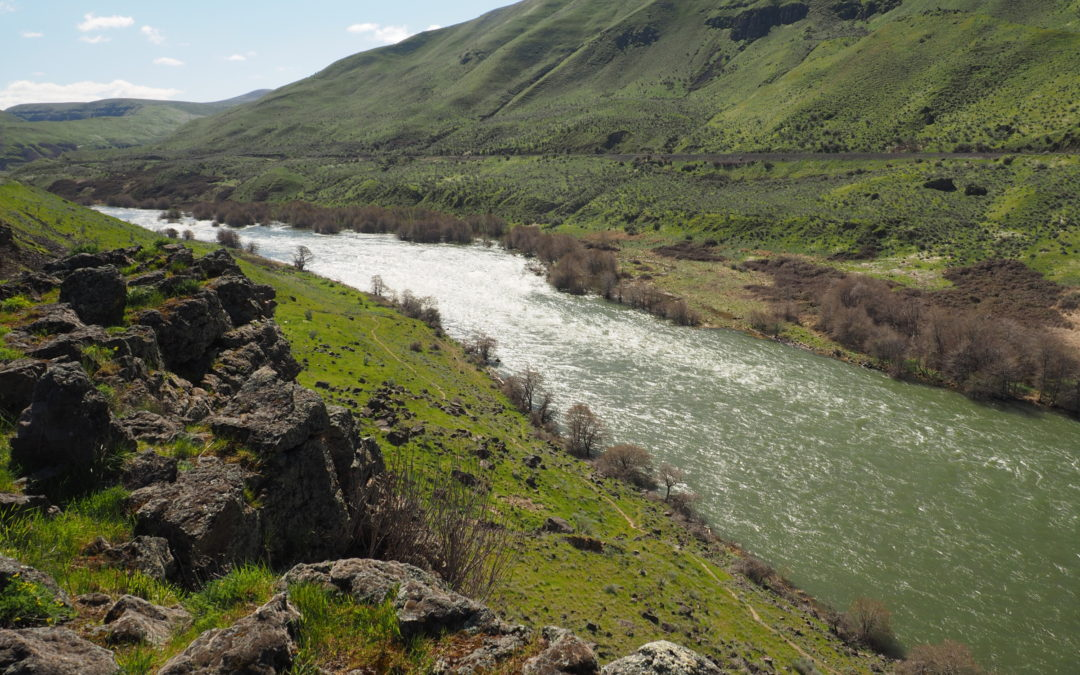 Vic Atiyeh River Trail and Ferry Springs Trail, OR