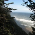 Ocean view from the Cape Lookout Coastal Trail