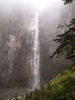 Comet Falls on a cloudy day seems kind of magical.