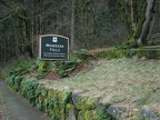 Trailhead sign for the Wahkeena Falls Trail in the Columbia River Gorge