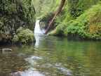 Punchbowl Falls on Eagle Creek is a perfect example of this type of waterfall.