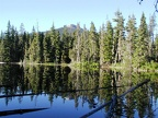 Jude Lake was a great place to camp and the lake was shallow and relatively warm.