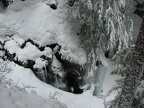 These huge icicles are by Carter Falls.
