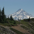Mt. Hood from Tomlike Mountain.